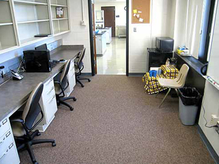 Why do graduate students have offices?