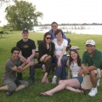 The Lai Lab at the 2011 PLU picnic at Branched Oak Lake.