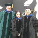 Dr. Kautz, Dr. Lai and Dr. Cheung attended the Spring 2013 hooding ceremony.