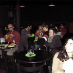 The Lai lab members attending the Science Cafe event hosted by Dr. Lai on Jan 20, 2011.