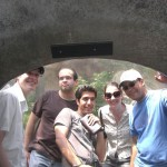 Thomas, Cody, Ehsan, Jennifer and Socrates at Omaha′s Henry Doorly Zoo.