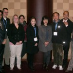 A group picture of the Lai Lab at the ACS Midwest Regional Meeting in Omaha.