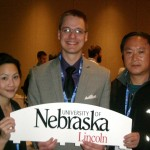 Dr. Lai, Thomas and Andy at the ACS Midwest Regional Meeting.