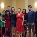 The Lai Lab and Yunyun from the Cheung Lab at the 2014 PLU party.