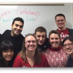 The Lai Lab in Christmas sweaters!