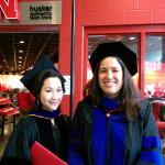 Dr. Lai and Anita at the 2015 Spring Graduation Ceremony!  Congratulations Anita!
