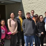 The Lai Lab at Dr. Ge's farewell lunch.