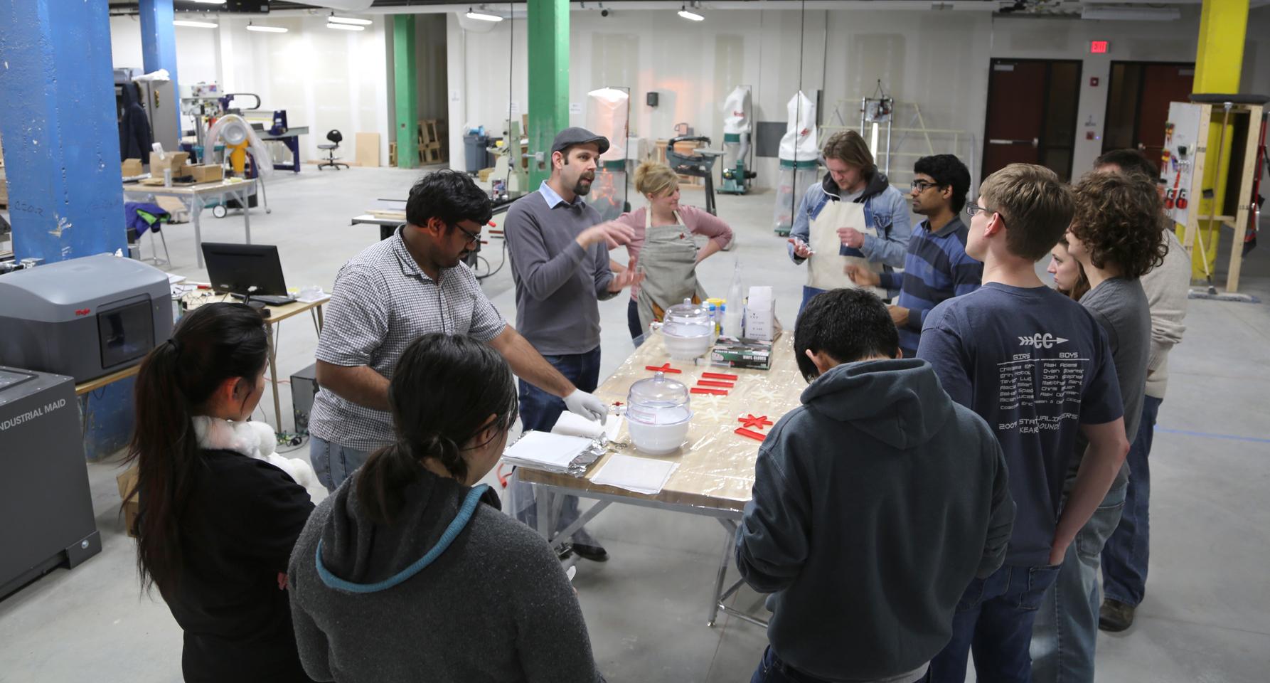 Innovation studio, Soft Robotics Laboratory