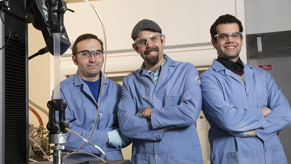 Argyropoulous, C.; Morin, S.A.; Taylor, J.M. (Left to Right),  authors of the study.